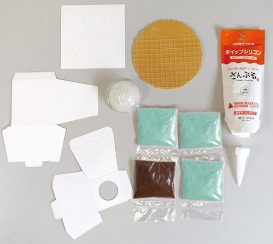 Fake Food Sample Ice Cream Kit