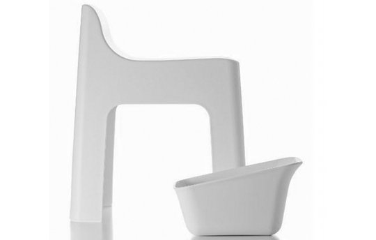 Retto High Chair Bath Stool