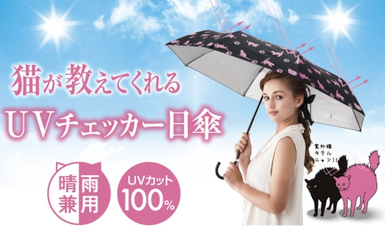 UV Checker Umbrella Cat Stroll Paw Parasol