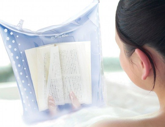 You-Bumi Waterproof Book Cover Bath Bag