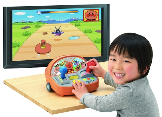 Anpanman Lets Go Driving Game