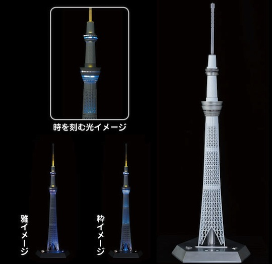 Tokyo Sky Tree Illumination Model by Joy Palette