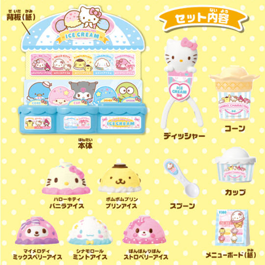 Hello Kitty and Friends Sanrio Ice Cream Shop