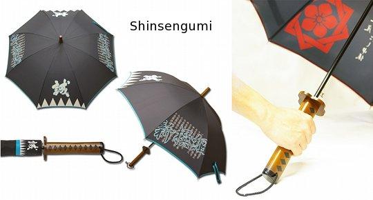 Ryoma Sakamoto Samurai Umbrella