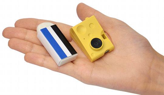 Chobi Cam Cheese Mini Digital Toy Camera