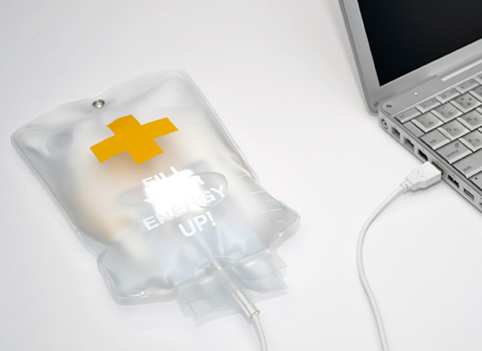IV Drip Bag USB LED Light