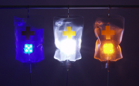 IV Drip Bag USB LED Light