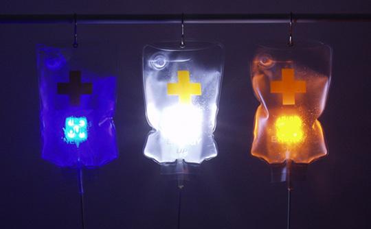 Iv Drip Bag Usb Led Light Japan Trend Shop