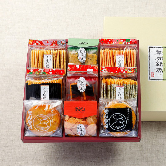 Kagaya Rice Cracker Assortment Set
