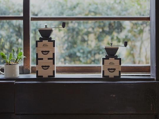 Kalita Coffee Mill Paulownia Hand Grinder