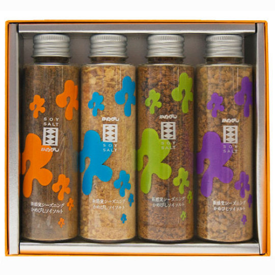 Soy Salt Variety Set (4 Pack)