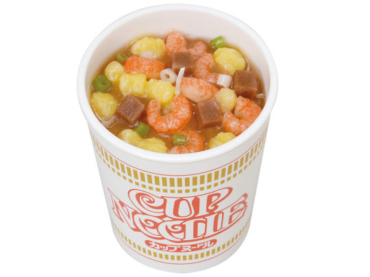Nissin Cup Noodle Candle