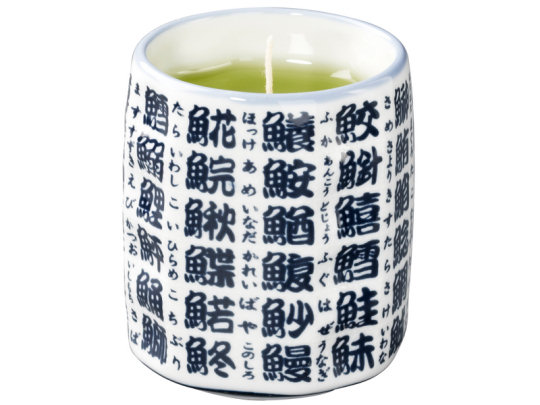 Sushi Teacup Candle