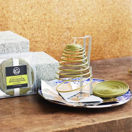 Kameyama Citronella Lemongrass Spiral Incense