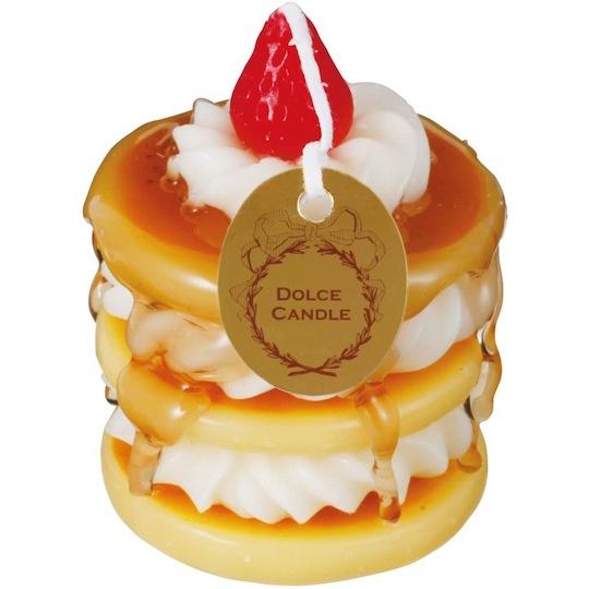 Kameyama Dolce Candle Strawberry Pancake