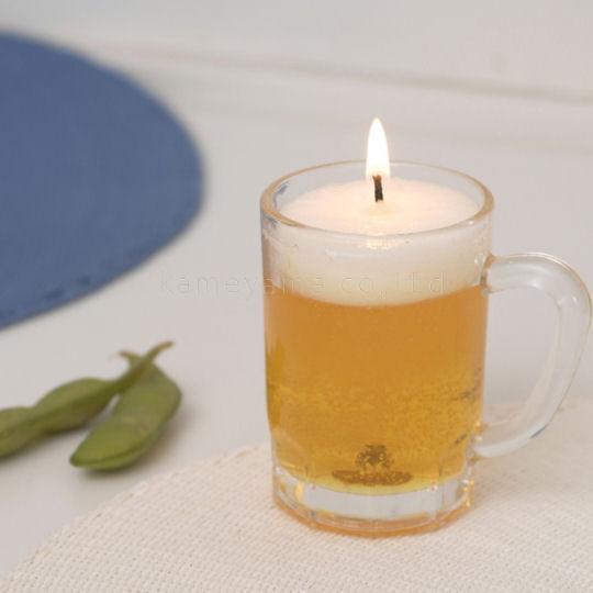 Kameyama Draft Beer Candle