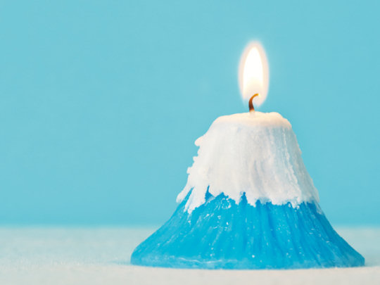 Mt. Fuji Candle