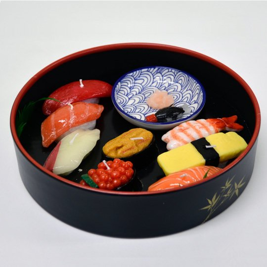 Sushi Candles (Set of 8 Types)