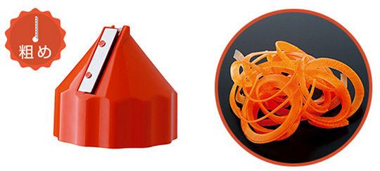 Nejicco Gemüsehobel Bleistiftanspitzer-Design