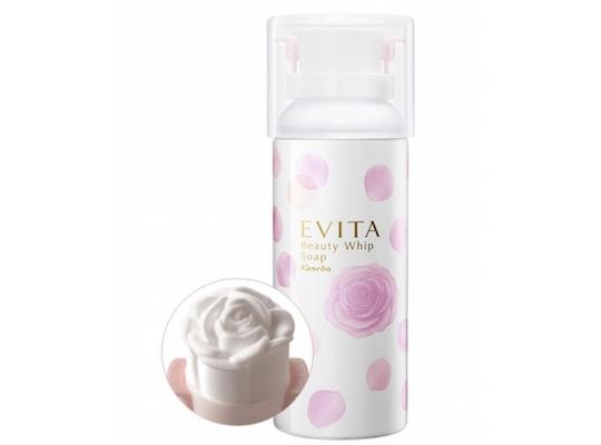 Kanebo Evita Rose Cleanser Beauty Whip Soap
