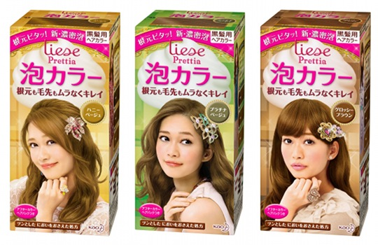 Japan Trend Shop Liese Prettia Awa Bubble Color Hair Dye Set