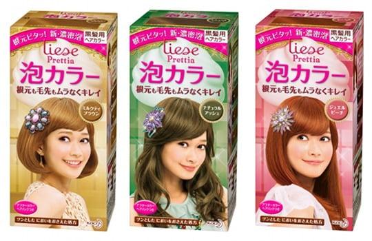 Liese Prettia Awa Bubble Color Hair Dye Set