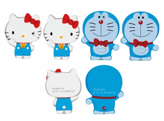 Hello Kitty and Doraemon Dominoes