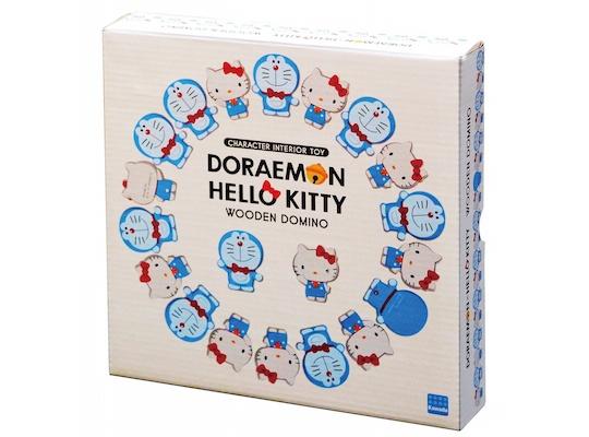 Hello Kitty and Doraemon Dominoes