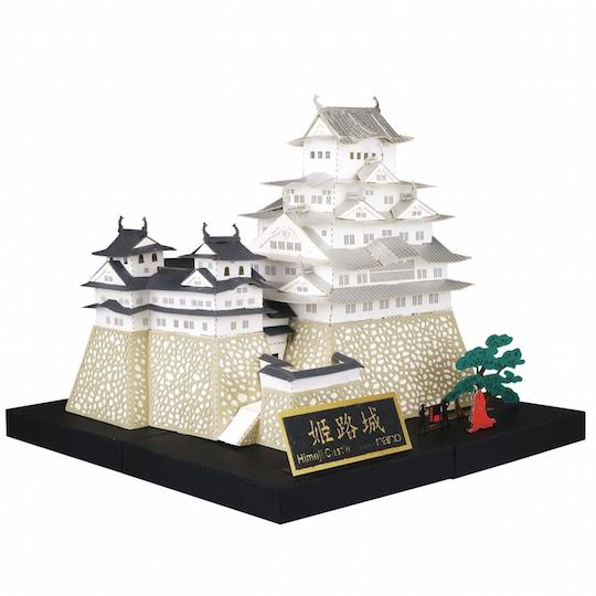 Nano Premium Himeji Castle Deluxe Edition Paper Model