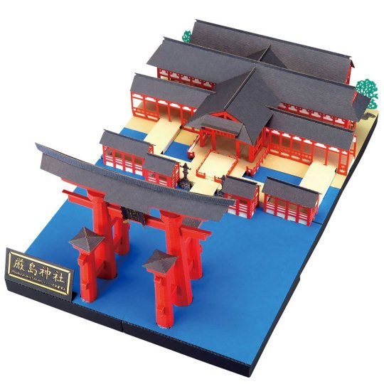 Nano Premium Itsukushima Miyajima Shrine Deluxe Model