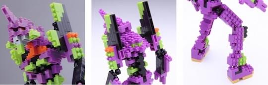 Nanoblock Evangelion Unit-01