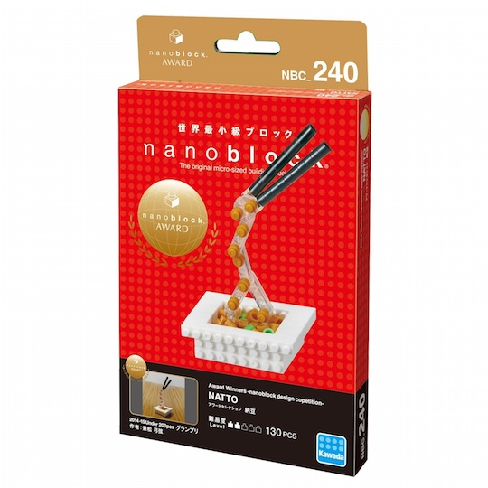 Nanoblock Natto Food