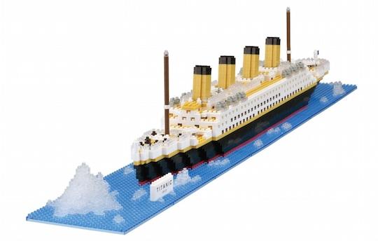Nanoblock Real Hobby Series Titanic
