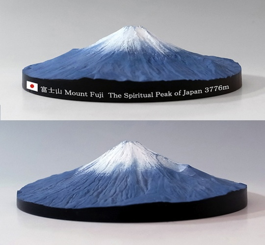 Mount Fuji 360 Degree 3D Map