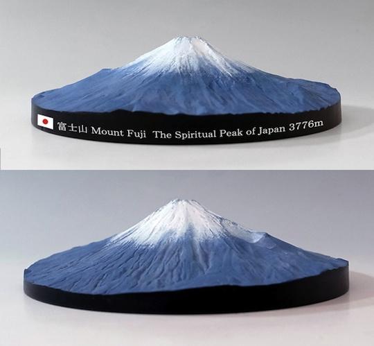 Mount Fuji 360 Degree 3d Map Japan Trend Shop
