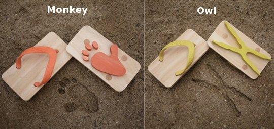 Ashiato Animal Footprint Kids Sandals