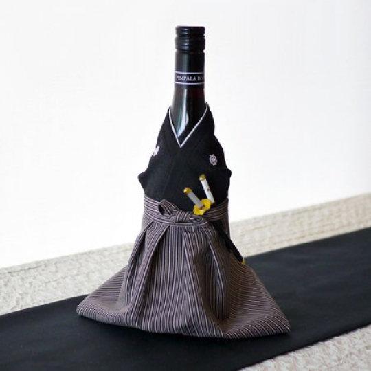 Kimono Wine Bottle Cover Sakamoto Ryoma