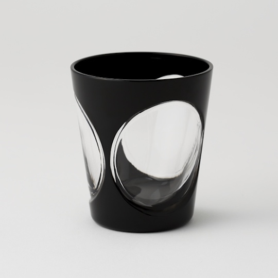 Edo Kiriko Kimoto Moon Glass