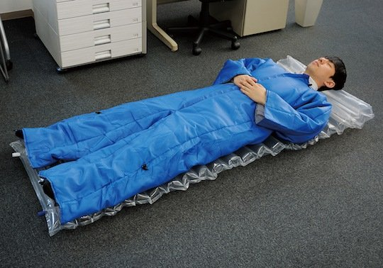 King Jim Wearable Futon Air Mat Set