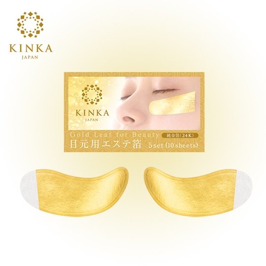 Kinka Gold Leaf Eye Pack