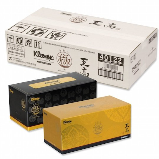 Kleenex Supreme Kiwami Japanese Crafts Tissues (4 Pack)
