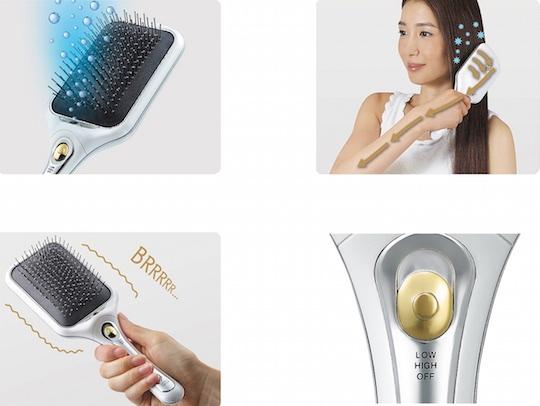 Koizumi Negative Ion Reset Hairbrush