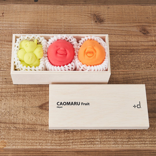 Caomaru Fruit Gift Box Stress Balls (3 Pack)