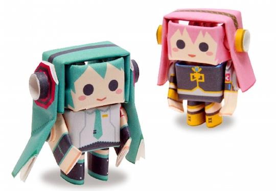 Japan trend shop hatsune miku megurine luka piperoid papercraft hatsune miku megurine luka piperoid papercraft models altavistaventures Choice Image