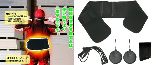 Hot Touch Heated Waist Belt