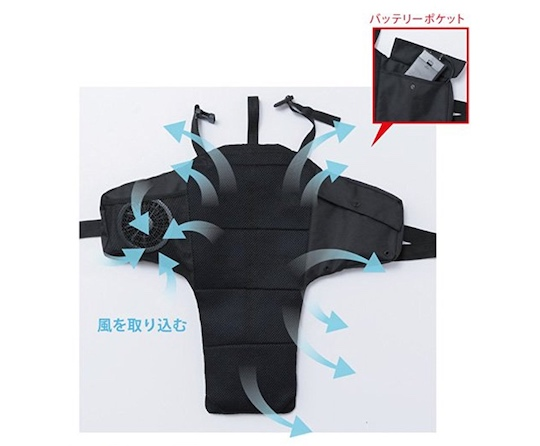 Kucho Air-conditioned Backpack Cooling Pack