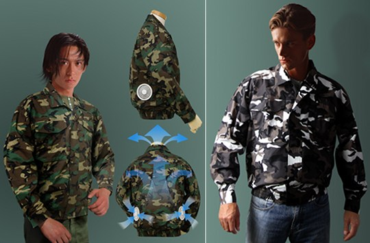 Kuchofuku Air-Conditioned Camouflage Jacket