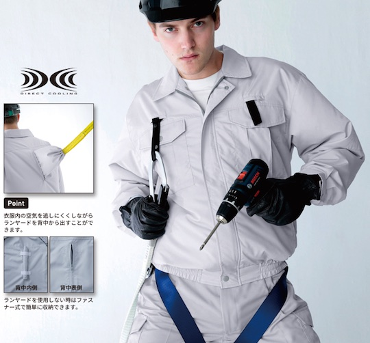 Kuchofuku Air Conditioned Cooling Harness Jacket Japan Trend Shop