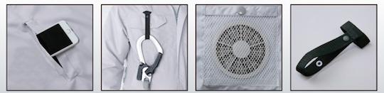 Kuchofuku Air-conditioned Cooling Harness Jacket