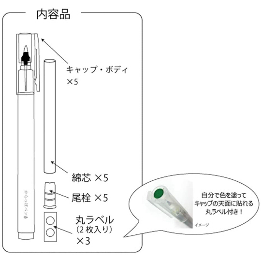 Kuretake Ink Cafe DIY Pen Art Set